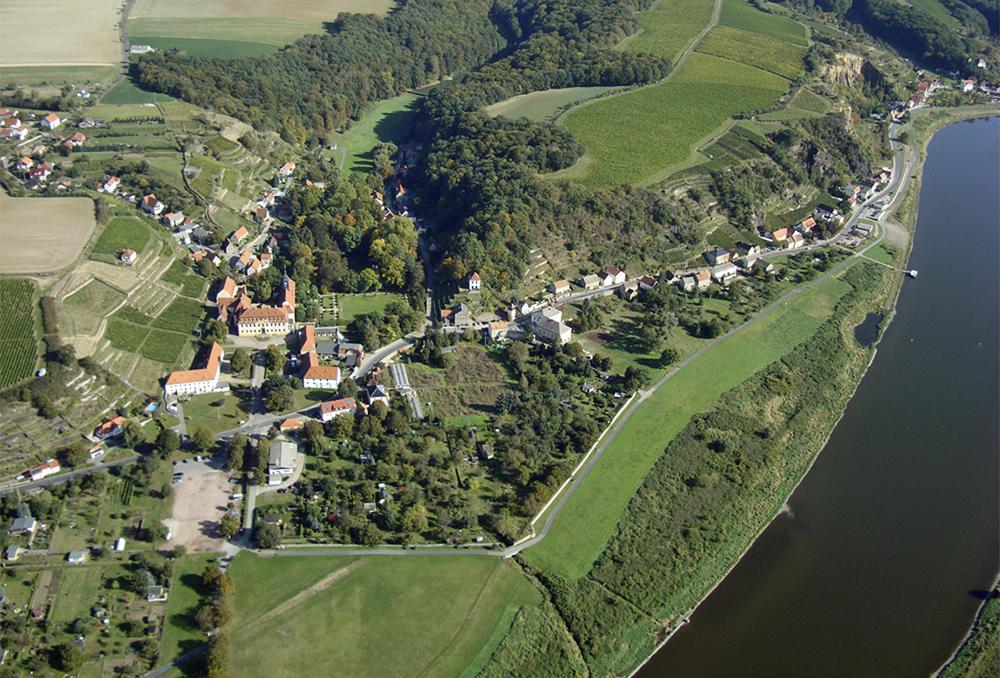 Diesbar-Seußlitz - Luftaufnahme