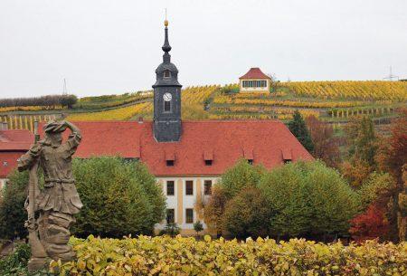 Schloss Seußlitz im Herbst