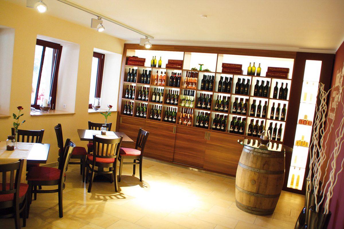 Weinverkauf Ulrichs Weindomizil